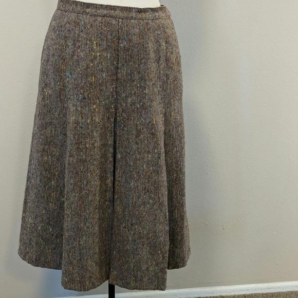 b94383e2f14 Yves Saint Laurent Skirts | Ysl Wool Vintage Skirt | Poshmark